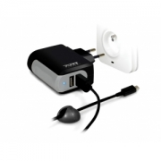 Chargeur Mural 2 Usb Et Cable