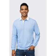 POLO RUGBY HOMME BICOLORE