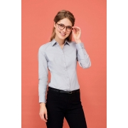 CHEMISE FEMME STRETCH MANCHES LONGUES