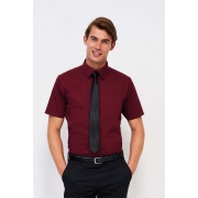 CHEMISE HOMME STRETCH MANCHES COURTES