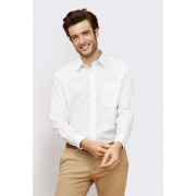 CHEMISE HOMME POPELINE MANCHES LONGUES