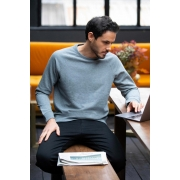 SWEAT-SHIRT COL ROND FRENCH TERRY HOMME