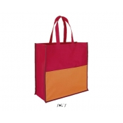 SAC SHOPPING TRICOLORE POLYESTER 600D