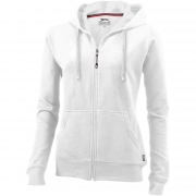 Sweater capuche full zip femme Open