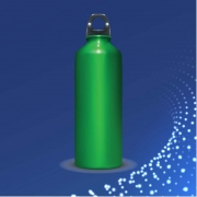 Isothermal bottles, cups and boxes